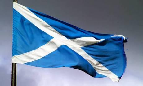 scottish-flag-waving